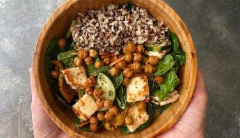 RECIPE: Healthy Halloumi Grain Bowl by Knead